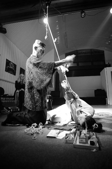Nawashi Murakawa's Salon of Kinbaku by Armando@kinetic-image.com